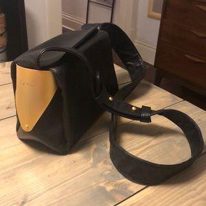 6deae2ef7 Vintage DKNY Leather Black crossbody bag